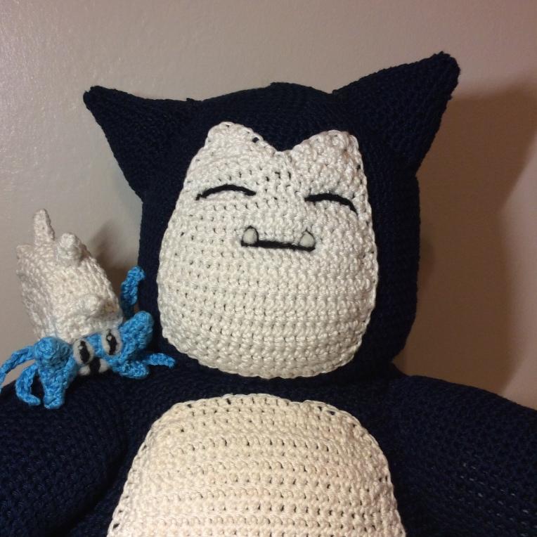 Ravelry: Snorlax Pokemon Amigurumi pattern by Cathrine Johansson | 764x764